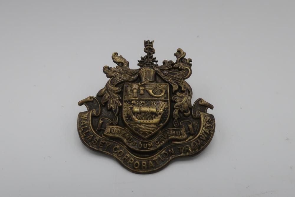 Wallasey Corp. Tramways cap badge