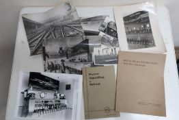 BRS booklet, Power Signaling at Bristol December 1935, and a quantity of black and white railway