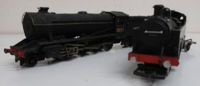 Kit built 064 LMS locomotive 2019 and another LNER 280 locomotive with tender