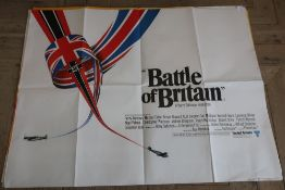 """""""Battle Of Britain"""" and """"Lawrence Of Arabia"""" film posters, both published by Lonsdale &"""