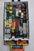 Corgi Lotus Elite 315, Rolls Royce Silver Shadow 280, Dinky 265 DL Estate 122, boxed models, and a
