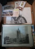 Collection of Postcards incl. RP Scarborough Pageant, York Military Sunday, Teddington Rly. other