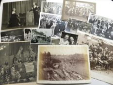 Collection of Walker's Studio, Scarborough photographs depicting social history views, The