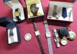 Ladies and Gents quartz wristwatches