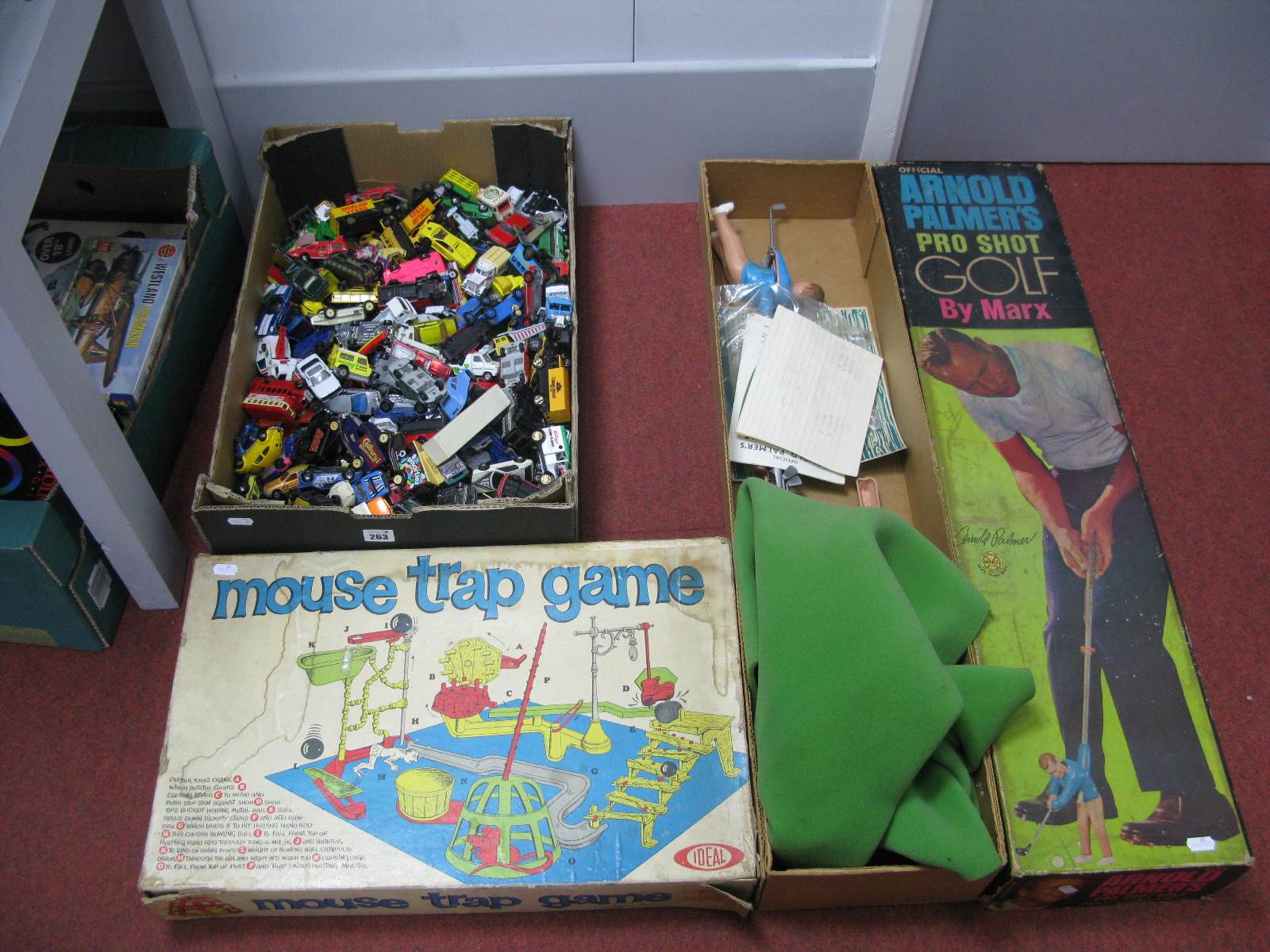 Lot 263 - A Quantity of Playworn Diecast Model Vehicles, by Lledo, Corgi, Matchbox and others, Ideal Mouse
