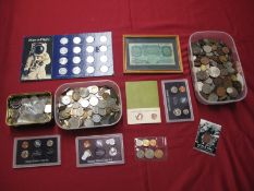 An Interesting Collection of G.B. and Overseas Base Metal Coins, including Two United States Coin