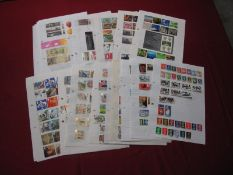 Mint GB Decimal and Pre-Decimal QEII Stamps, decimal face value over £390 mounted on A4 pages,