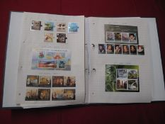 Mint GB Decimal Stamps, lightly mounted A4 sheets, with a total face value of over £600.