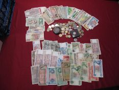 Approximately One Hundred Circulated Banknotes, to include Bermuda Government One Pound 1/10/1966,