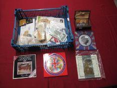 Royal Mint United Kingdom BU Coin Sets, 1983, 1996, 1997, 1998, 2000, Railway/Leisure Attraction
