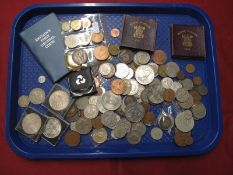 A Collection of Mainly G.B. Pre-Decimal Coins, including G.B. Five Pounds 2007, Festival of