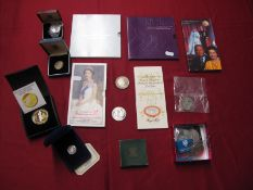 An Interesting Collection of Mainly GB Modern Coins, including Royal Mint 2007 Diamond Wedding Crown
