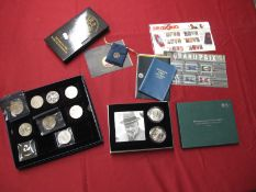 An Interesting Collection of Coins, to include The Royal Mint 50th Anniversary of The Death of Sir