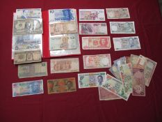 In Excess of Thirty Banknotes, including Bank of Scotland Five Pounds, United States of America