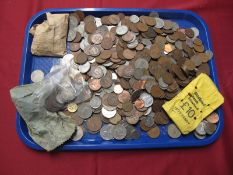 A Quantity of British, Irish, Channel Islands and Overseas Coins, sometimes redeemable, noted