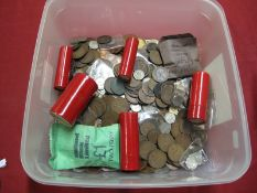 A Quantity of Predominantly G.B. Pre Decimal Base Metal Coins, assorted denominations.