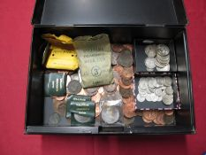 A Quantity of Predominantly GB Pre-Decimal Coins, including over Two Pounds (total face value) of