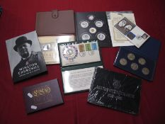 A Collection of Predominately Commemorative Crowns and Medallions, to include The Turner Bicentenary