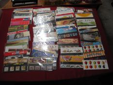 A Collection of GB Decimal Presentation Packs, with a face value of over £350, including loose extra