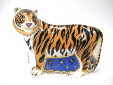 A Royal Crown Derby Paperweight 'Siberian Tiger', from The Designers Choice Collection, No. 616 of a