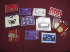 A Collection of Great Britain Coin Sets and Packs Both Decimal and Pre-Decimal, to include Silver