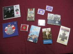 A Collection of Royal Mint Coin Presentation Packs, to include 2004 UK BU Coin Collection Five