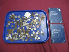An Interesting Assorted Collection of Coins, to include Whitman Great Britain Sixpence and Pennies