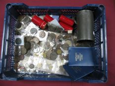 A Quantity of Predominantly GB Pre-Decimal Base Metal Coins, assorted denominations sometimes