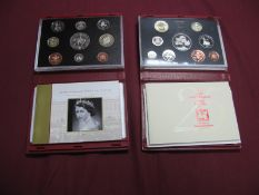 Two Royal Mint United Kingdom Proof Coin Sets, including 2002 Proof Collection, accompanied by