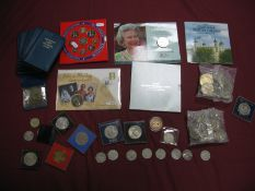 United Kingdom, Isle of Man Decimal Coin Interest, to include 1981 Commemorative Crowns, Britain's
