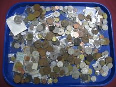 A Quantity of Overseas Base Metal Coins, many countries represented including British West Africa