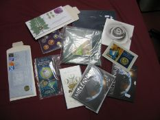 A Collection of Predominately Royal Mint United Kingdom Coin Presentation Packs, to include from old