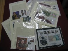 A Collection of Eighteen Philatelic/Numismatic Covers, including Great Britain '10th Anniversary