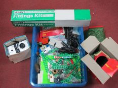 """The Remnants of a Model Railway """"OO"""" Scale Workshop, including Locomotives/Lineside Accessories/"""