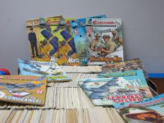 InExcess of Four Hundred Commando For Action and Adventure Comics, editions appear to be in the