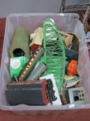 """The Contents of a """"OO"""" Scale Railway Modellers Workshop, comprising locomotive, rolling stock,"""