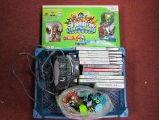 A Quantity of PS2 and PS3 Games, Wii Skylanders, among others.