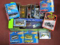 Eighteen Diecast Model Vehicles by ERTL, Road Champs, including ERTL 68' GTO, 1955 Chevy Cameo