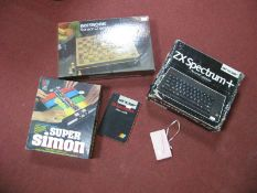 A Boxed Sinclair ZX Spectrum, plus Personal Computer (circa 1984), user guide, user guide