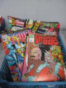 Thirty-Nine Modern Comics by QC Fleetway, Eagle, including Rogue Trooper, Bad Company, Judge