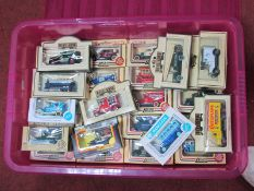 Approximately Fifty Lledo and Days Gone Vehicles, all boxed.