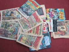A Small Quantity of Comics From 1970's and 1980's, including Star Wars and 2000AD etc.