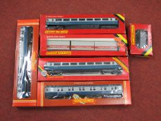 """A Small Quantity of Hornby """"OO"""" Rolling Stock, including four blue/grey British Rail coaches,"""