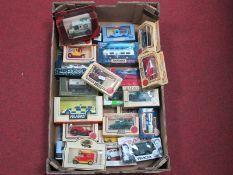 Approximately Twenty-Five Diecast Model Vehicles by Lledo, Matchbox, Corgi, Husky, including