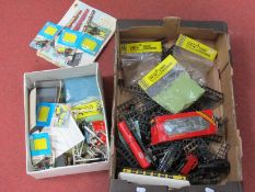 """A Quantity of """"OO"""" Model Railway and Accessories, often Tri-ang, including clockwork locomotives,"""