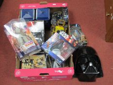 A Quantity of Modern Collectibles Relating to Star Wars/Star Trek and Dr Who; plus two original Star