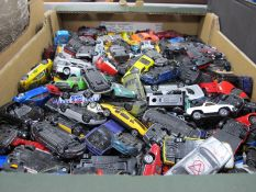 A Large Quantity of Die Cast Model Cars:- One Box