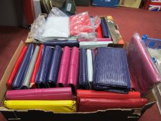 Shoulder/Clutch Bags (40), various different colours:- Two Boxes