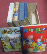 Early XX Century Children's Books, including 'Merry Games' by Ernest Nister, published by E.P.