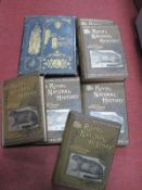 Richard Lydekker Royal Natural History 1893-94, six volumes, Warne & Co. Foxe's Book of Martyrs.